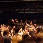 crowd-surf