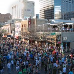 6th street plus St. Patricks day equals insanity