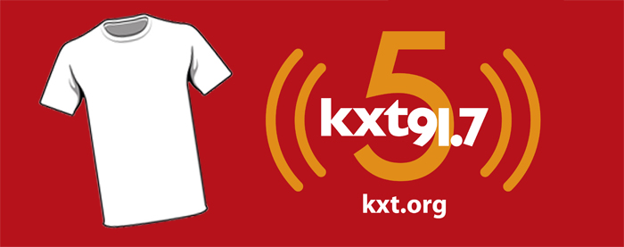 KXT Turns 5 T-Shirt Contest