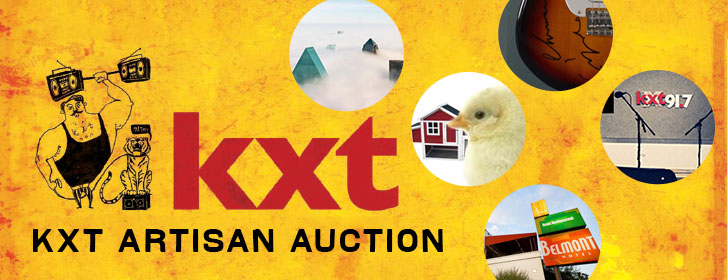 Get in on the KXT Artisan Auction