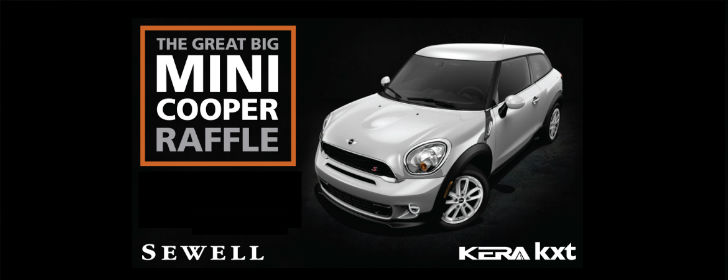 The Great Big MINI Cooper Raffle