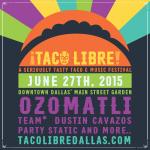 taco libre poster