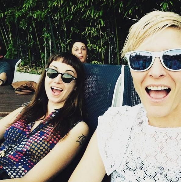 Holly Miranda sittin' poolside before her Barefoot debut — photo via @marnieherald.