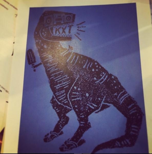 Our favorite staffer: KXT-Rex.