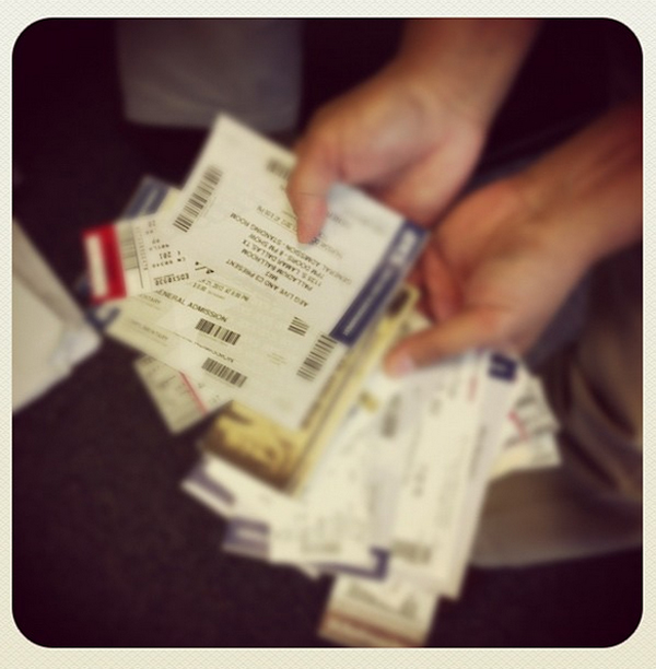 We hope you love winning tickets as much as we love giving them to you.