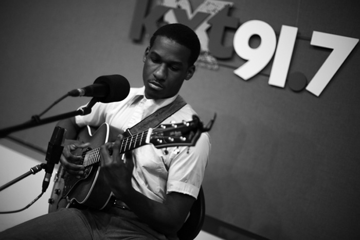 Feb. 19, 2015 — Leon joined us in our studio for a KXT Live Session. This was the Fort Worthian's first-ever radio interview.