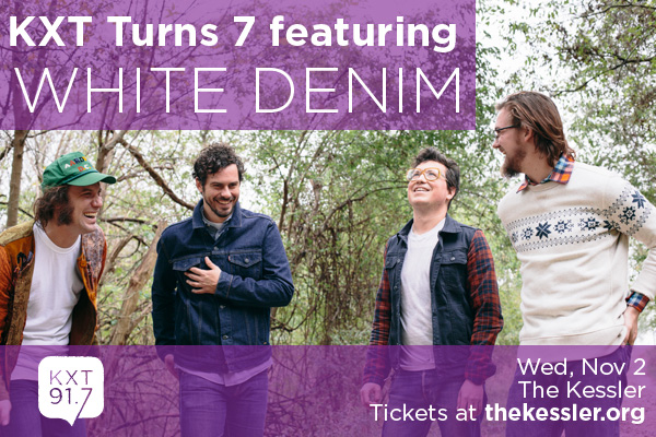 KXT Turns 7 featuring White Denim