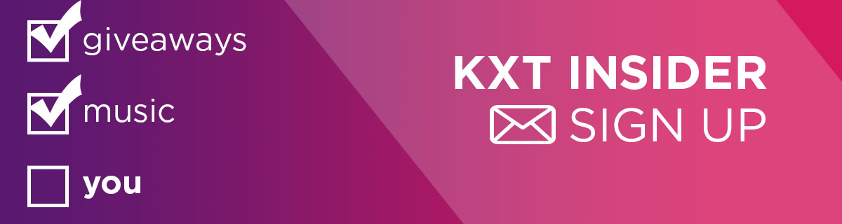 Sign up for KXT E-Newsletter