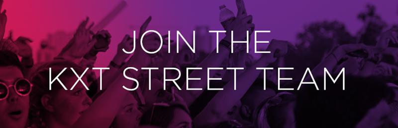 Street Team banner