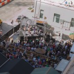 A bird's eye view of Youngblood Hawke playing at Cedar Door
