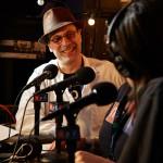 NPR Music's Bob Boilen before showtime.