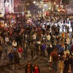 6th street from above at midnight