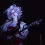 St. Vincent at the NPR showcase at Stubb's