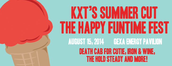 KXT SUmmer Cut banner with bands