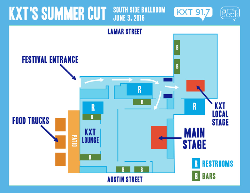 Summer Cut Map