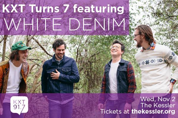 KXT Turns 7 featuring White Denim