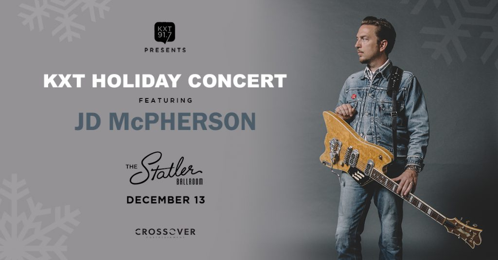 Win Tickets to The KXT Holiday Concert ft  JD McPherson