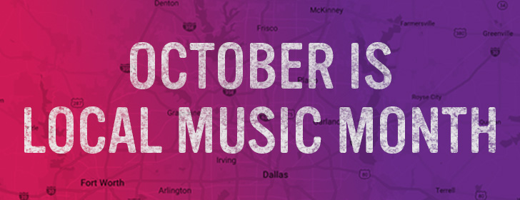 Local Music Month on KXT