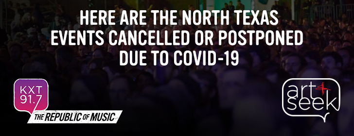 Cancelled Events in North Texas