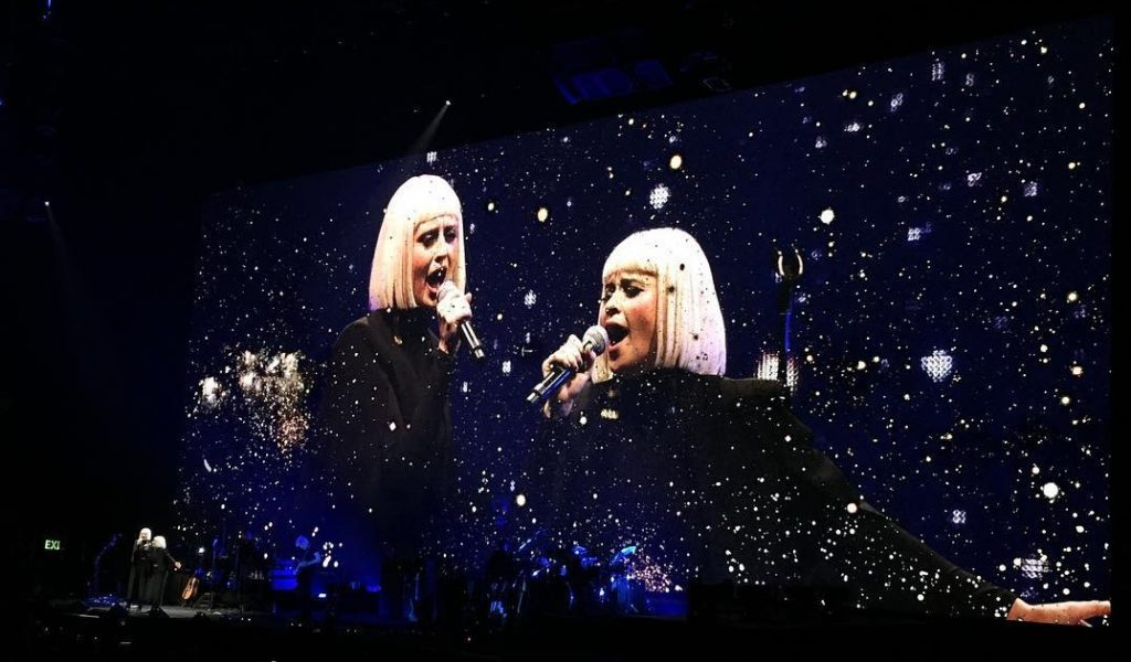 Lucius live at Staples Center June 2017